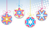 Greating のクリスマス カード — ストックベクタ