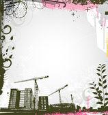 Urban background — Stock Vector