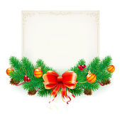 Christmas frame — Stockfoto