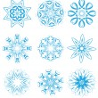 Snowflakes set — Stock Vector #7271795