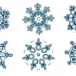 Snowflakes set — Stock Vector #7271860