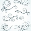 Decorative floral elements -  