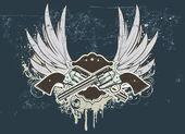 Sheriff insignia — Stock Vector