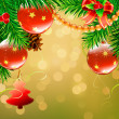 Christmas decorative background — ストック写真