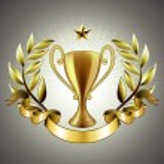 Golden cup — Stock Vector #7490065