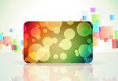 Gift card — Wektor stockowy