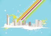 Urban background — Wektor stockowy
