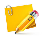 Yellow pencil — Stock Photo
