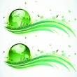 Royalty-Free Stock Vector Image: Green Eco Background
