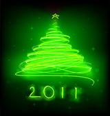 Christmas tree — Vettoriale Stock