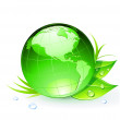 Royalty-Free Stock Vector Image: Green Earth