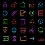 Icons set — Stock Vector #7706002
