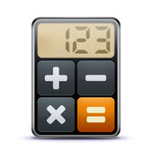 Calculator icon — Foto Stock