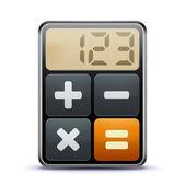 Ikona kalkulačka — Stock fotografie