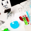 Royalty-Free Stock Photo: Chemistry or biology laborotary equipment