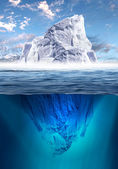 Melting Iceberg — Stock fotografie