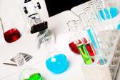 Equipamento de laborotary de química ou biologia — Fotografia Stock