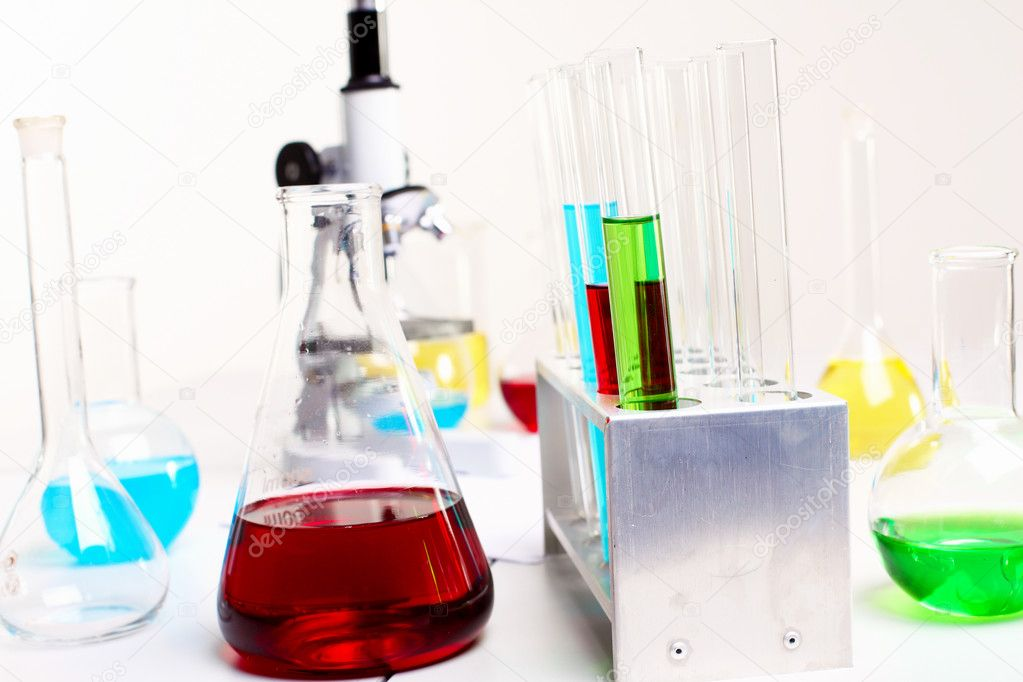 Image of chemistry or biology laborotary equipment — Stock Photo #6843958