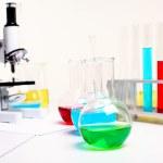 Chemistry or biology laborotary equipment — Stock Photo #6855284