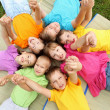 Group of children in the park — Stock Photo #6855384
