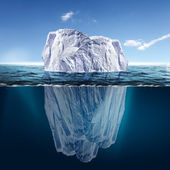 Derritiendo iceberg — Foto de Stock
