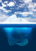Melting Iceberg — Foto Stock