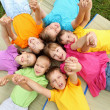 Group of children in the park — Stock Photo #7021134