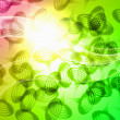 Abstract bright colourful background — 图库照片