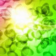 Abstract bright colourful background — Photo