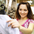 Young woman doing shopping — Lizenzfreies Foto