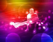 Disco eller night club dansare — Stockfoto