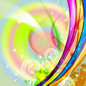 Colourful abstract illustration background — Stock Photo