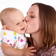 Young mother with little daughter — Stock Photo #7537638