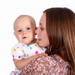 Young mother with little daughter — Stock Photo #7537665
