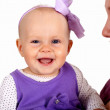 Young mother with little daughter — Stock Photo #7537712