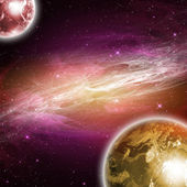 Planets in the space — Stock Photo