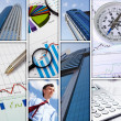 Financial and business charts and graphs — Stock Photo #7742115