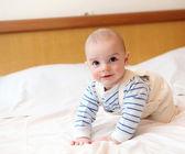Portrait of little baby — Stock Photo