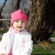 Litlle girl in the park — Stock Photo #7787805