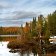 Autumn Lake — Stock Photo