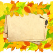 Stock Photo: Autumn message