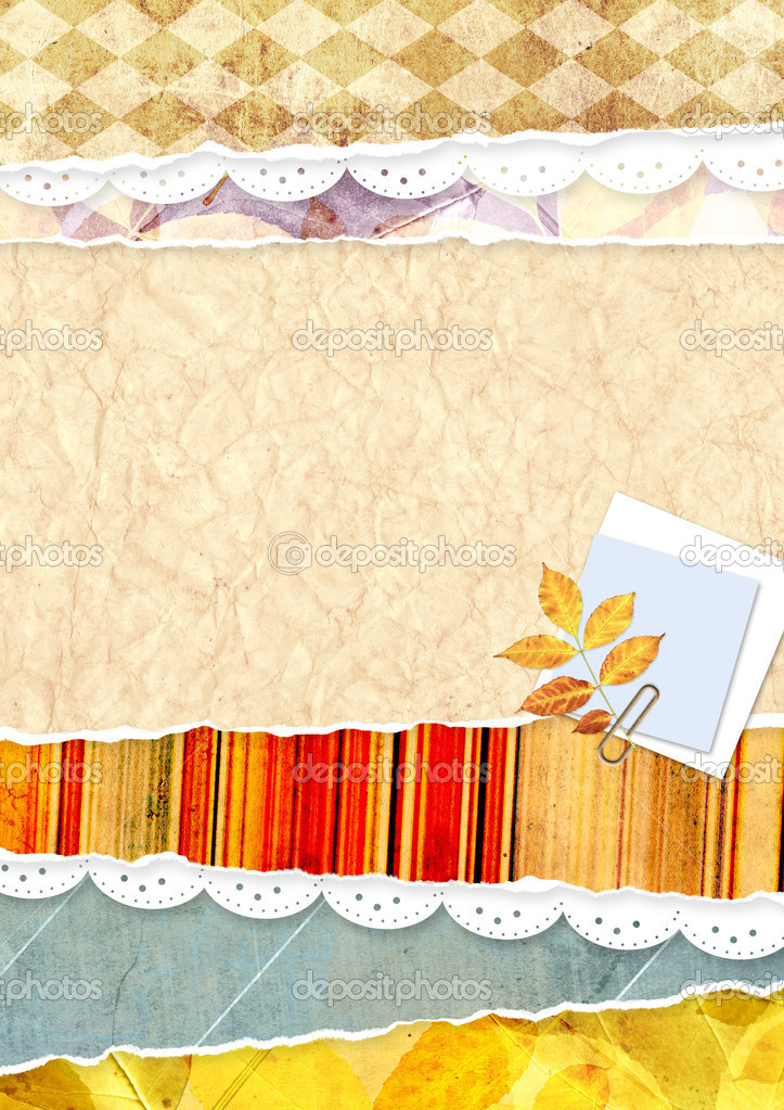 Decorative grunge background for scrapbooking  Stock Photo #6765332