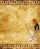 エジプトの女神 isis — ストック写真