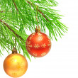 Christmas ornaments — Stockfoto #7412210