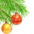Christmas ornaments — Stock Photo #7412210