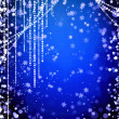 Abstract curtains of holiday garland — Stock Photo