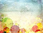 Papel antigo textura com manchas de tinta — Fotografia Stock