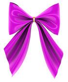 Magenta bow — Stock Photo