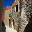 Stock Photo: Old streets of byzantine town Monemvasia, Greece