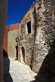 Viejas calles de la ciudad bizantina monemvasia, grecia — Foto de Stock